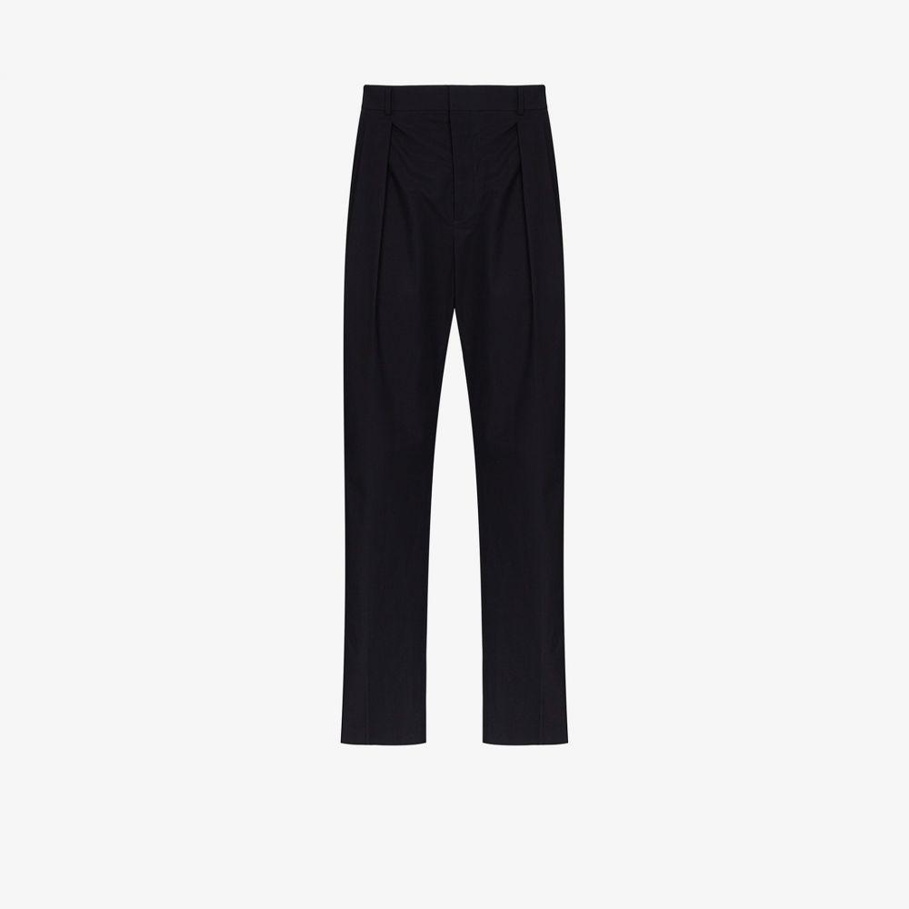 ヴァレンティノ Valentino メンズ ボトムス・パンツ 【Contrast stripe tailored trousers】blue