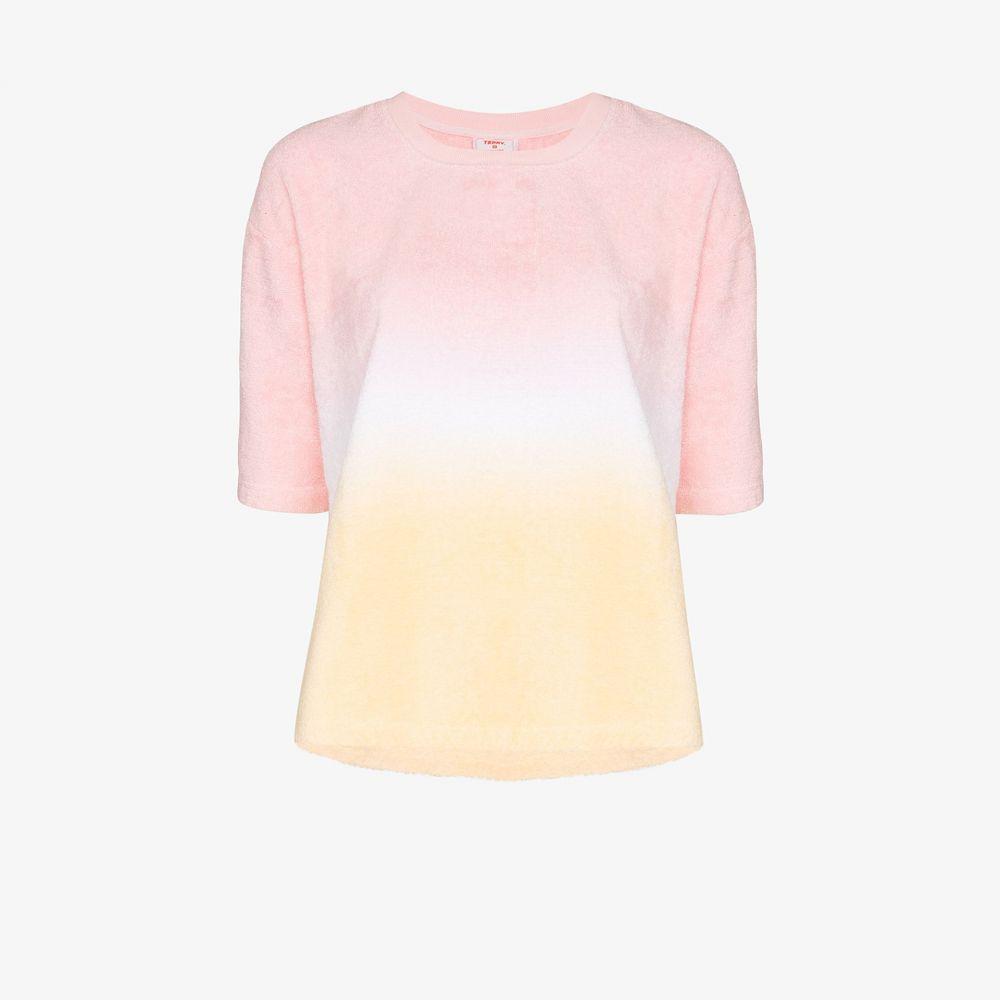 テリー Terry レディース ビーチウェア Tシャツ 水着・ビーチウェア【warm gradient T-shirt】pink