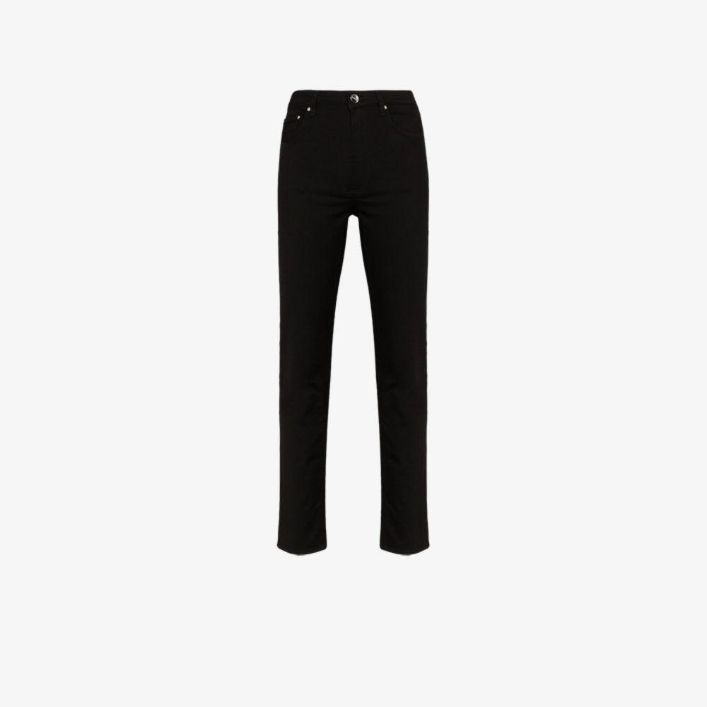 トーテム Toteme レディース ジーンズ・デニム ボトムス・パンツ【Standard denim stay black jeans】black