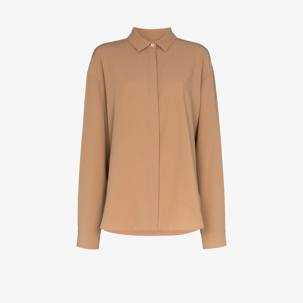 トーテム Toteme レディース ブラウス・シャツ トップス【Capri crepe shirt】neutrals
