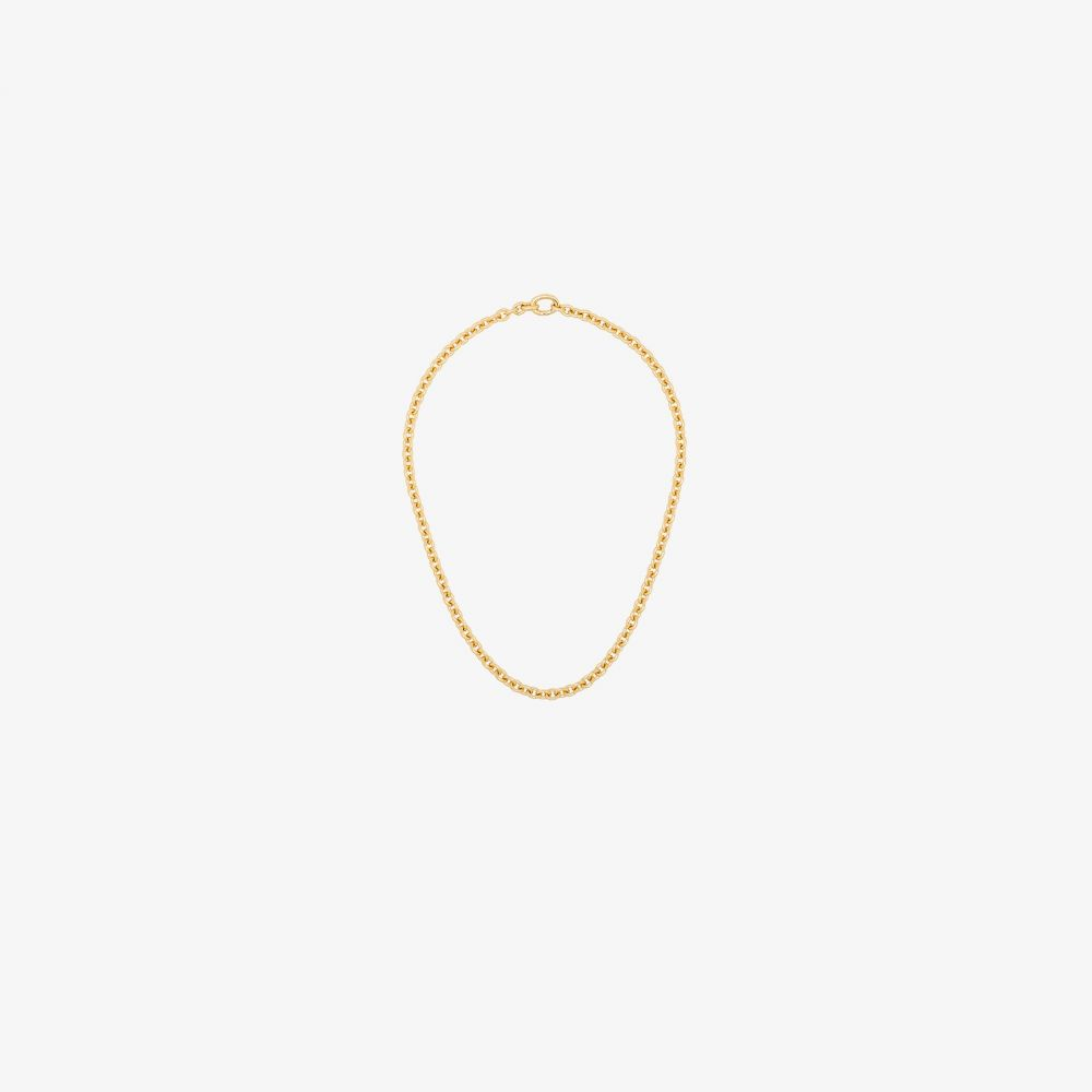トムウッド Tom Wood メンズ ネックレス ジュエリー・アクセサリー【gold tone slim chain necklace】gold