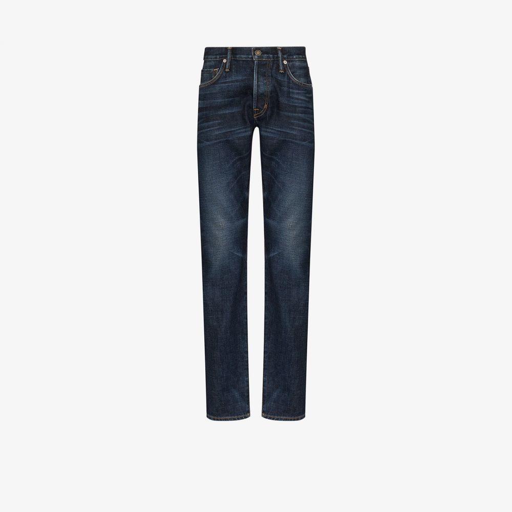 トム フォード Tom Ford メンズ ジーンズ・デニム ボトムス・パンツ【slim leg jeans】blue