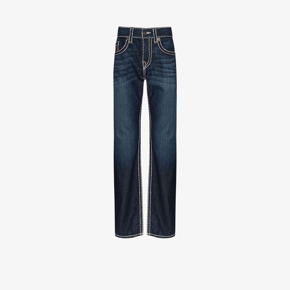 トゥルー レリジョン True Religion メンズ ジーンズ・デニム ボトムス・パンツ【Ricky Super T straight jeans】blue