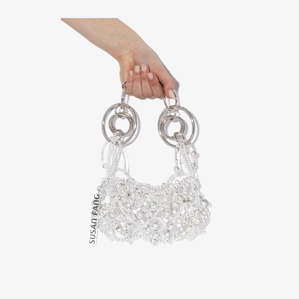 スーザン ファング Susan Fang レディース ショルダーバッグ バッグ【silver tone Bubble Bells shoulder bag】silver