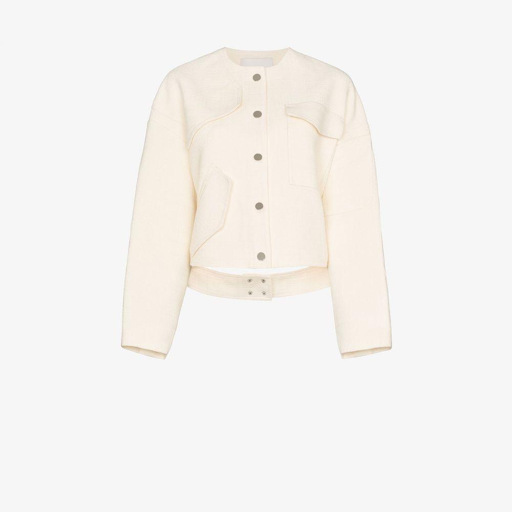 ティビ Tibi レディース ジャケット アウター【single-breasted patch pocket jacket】neutrals