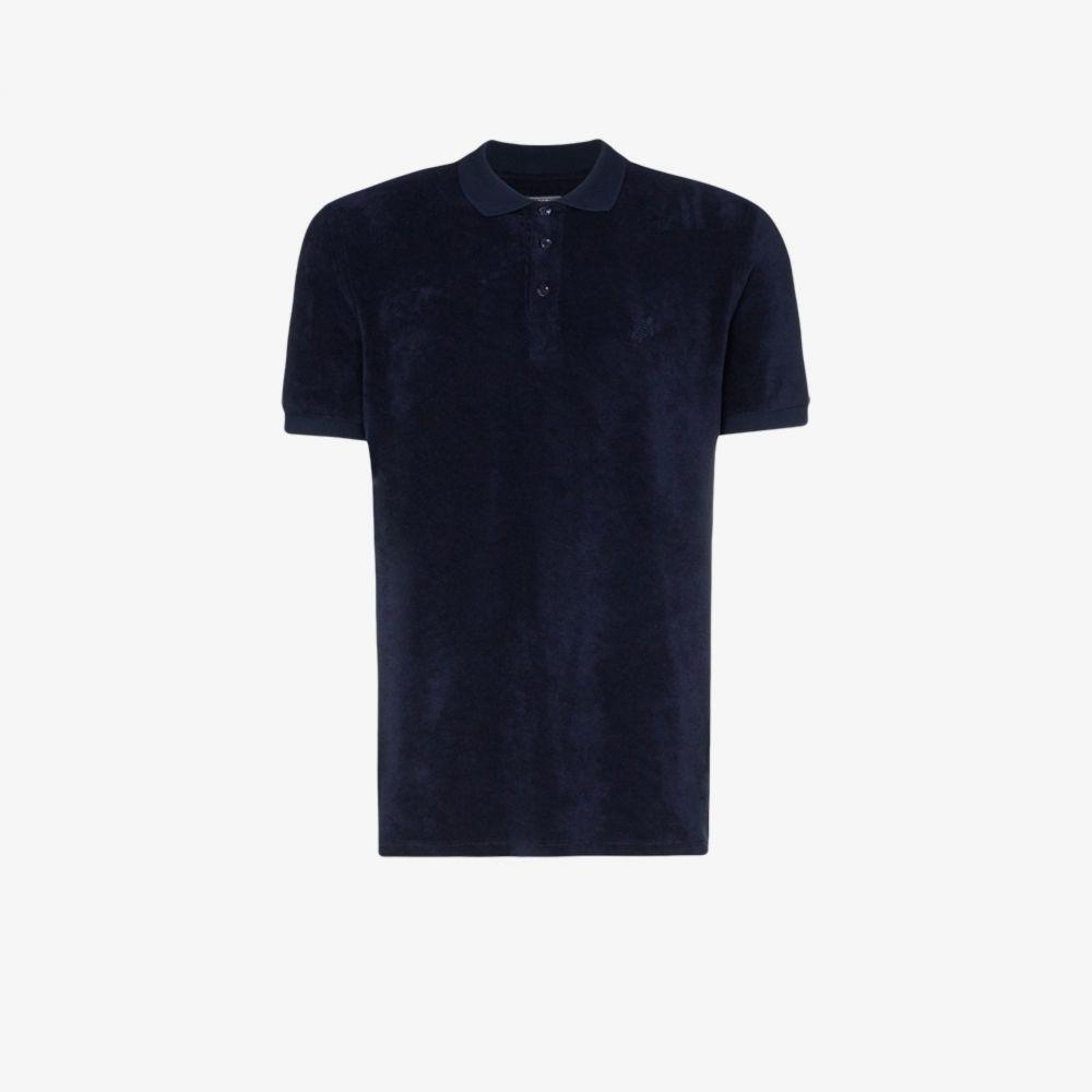 ヴィルブレクイン Vilebrequin メンズ ポロシャツ 半袖 トップス【pacific short sleeve polo shirt】blue