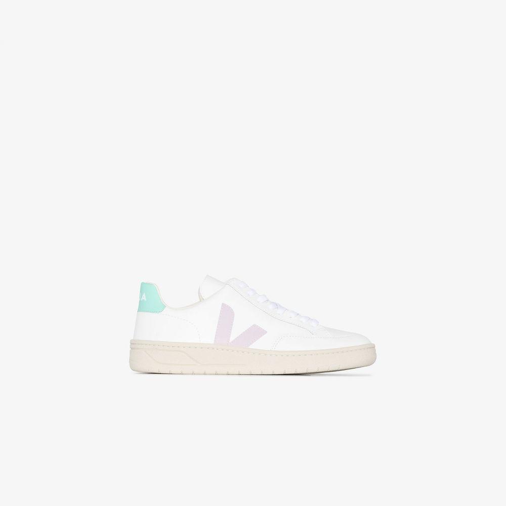 ヴェジャ Veja レディース スニーカー シューズ・靴【White V-12 logo sneakers】white
