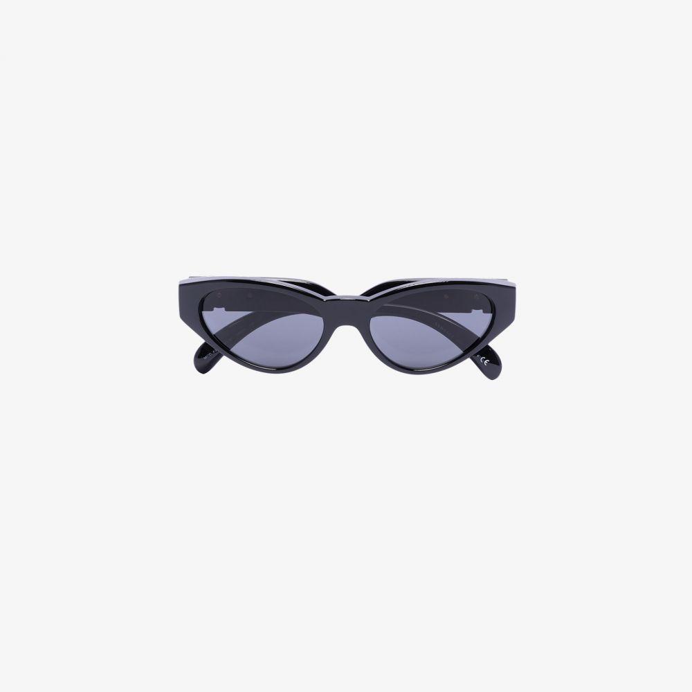 ヴェルサーチ Versace Eyewear レディース メガネ・サングラス 【Black cat eye tinted sunglasses】black