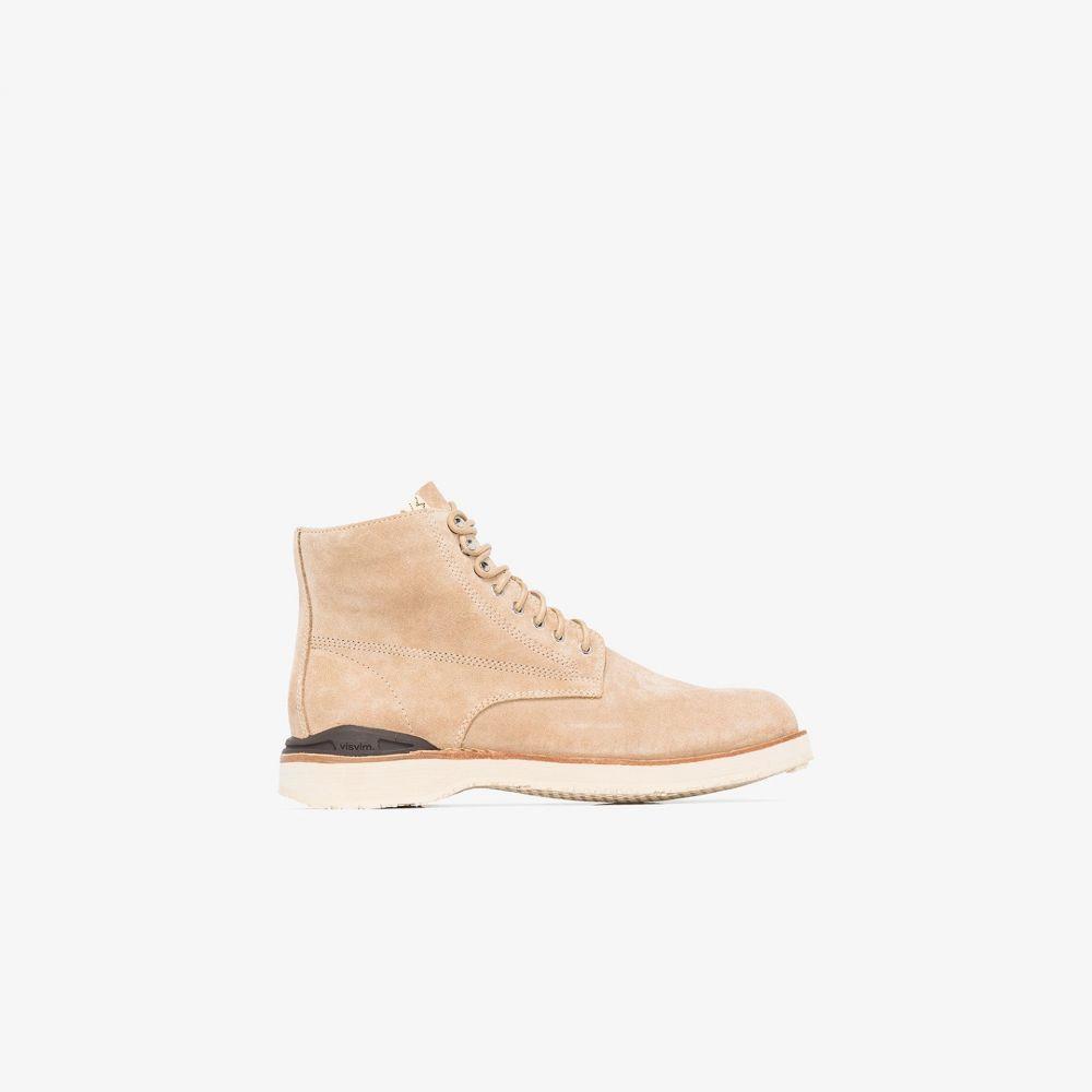 ビズビム Visvim メンズ ブーツ ショートブーツ シューズ・靴【beige Virgil suede ankle boots】neutrals