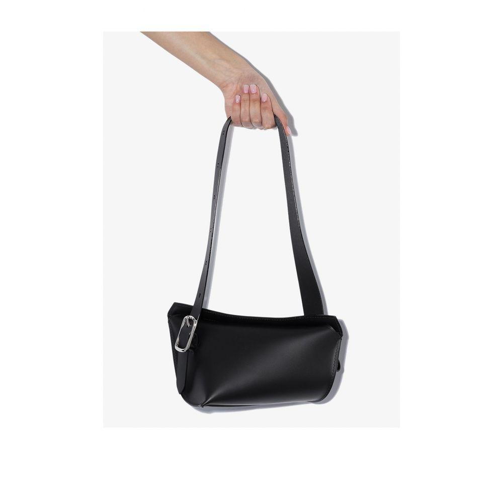 ヴェンツェル VENCZEL レディース ショルダーバッグ バッグ【Black Aera-S leather shoulder bag】black