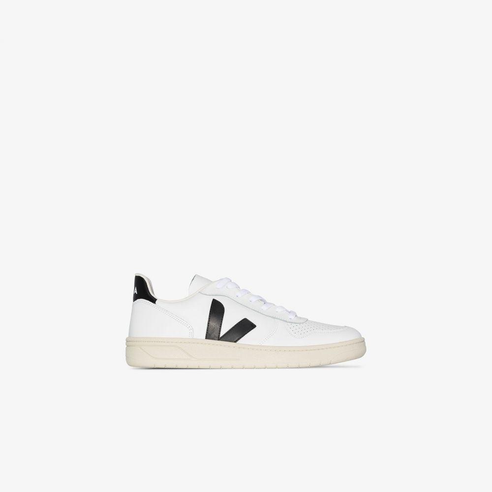 ヴェジャ Veja メンズ スニーカー シューズ・靴【White V-10 leather sneakers】white