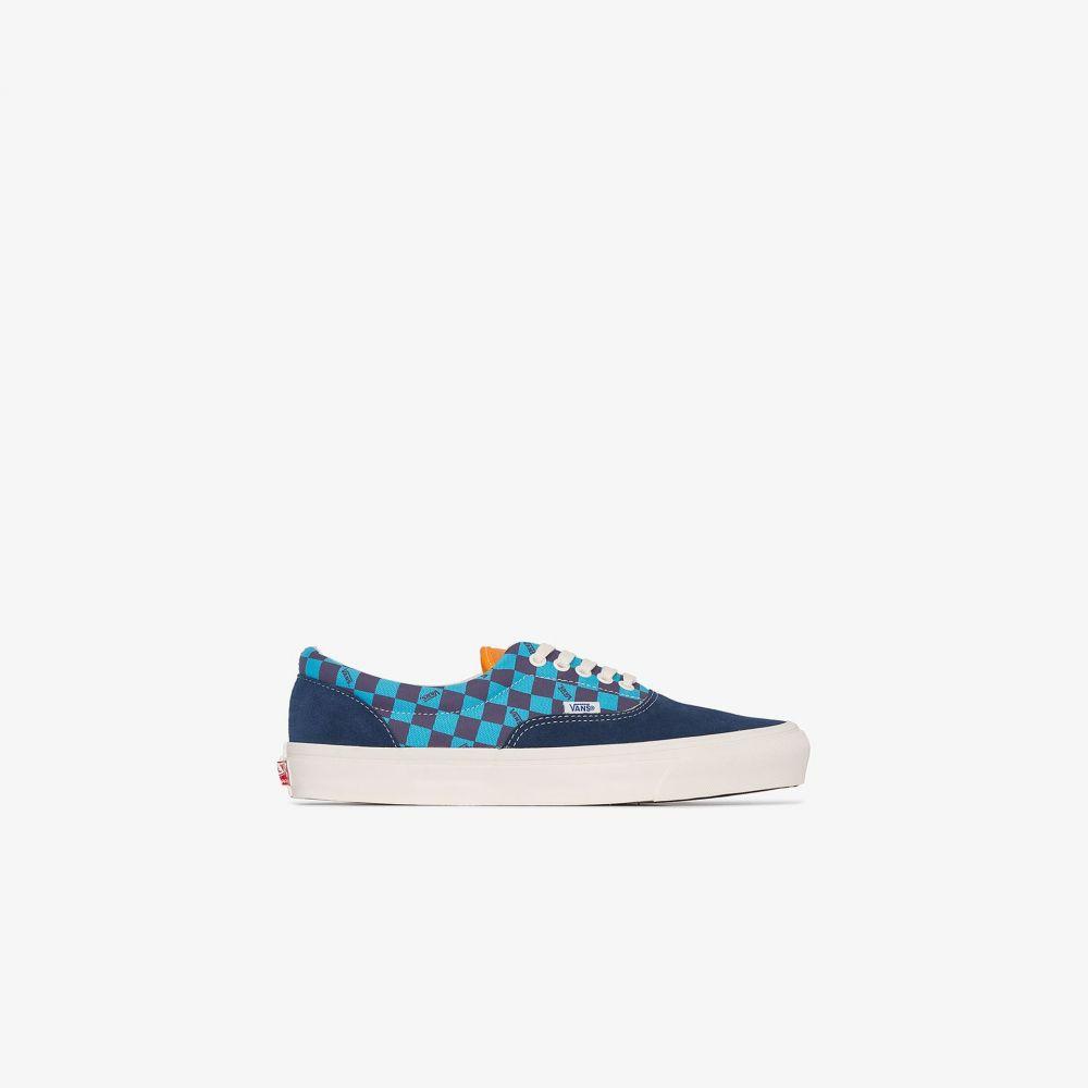 ヴァンズ Vans メンズ スニーカー ローカット シューズ・靴【blue and orange OG Era LX low top sneakers】blue