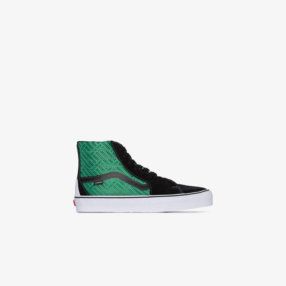 ヴァンズ Vans メンズ スニーカー シューズ・靴【black and green UA SK8-Hi GORE-TEX sneakers】black