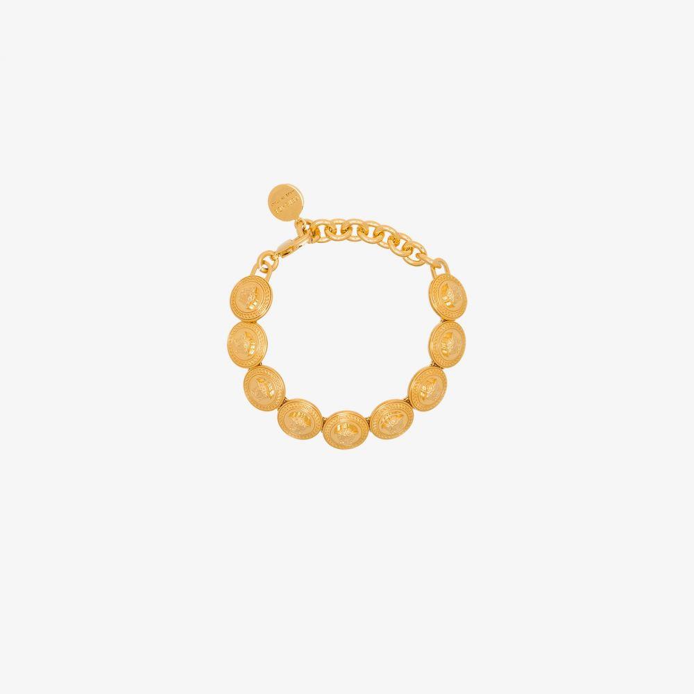 ヴェルサーチ Versace メンズ ブレスレット メデューサ ジュエリー・アクセサリー【gold tone medusa medallion bracelet】gold