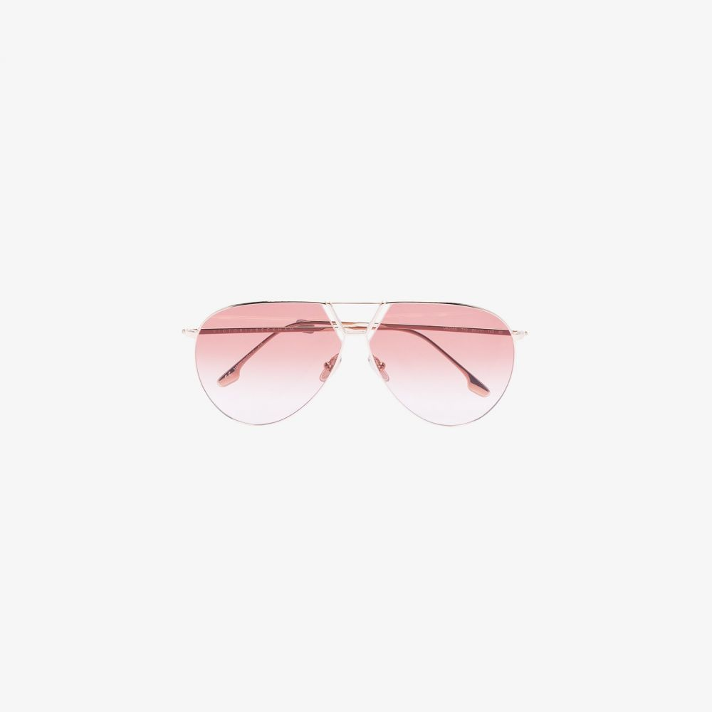 ビクトリア ベッカム Victoria Beckham Eyewear レディース メガネ・サングラス アビエイター【gold tone Aviator sunglasses】gold