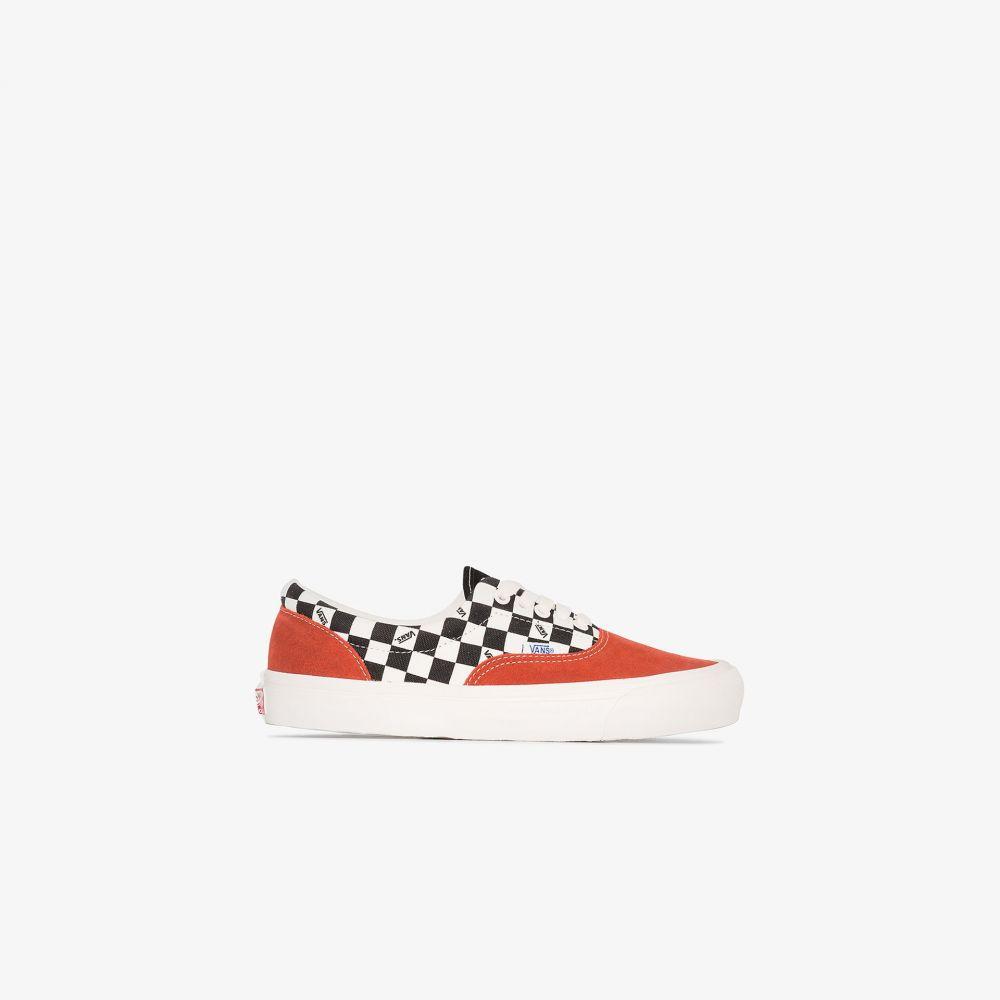 ヴァンズ Vans レディース スニーカー シューズ・靴【multicoloured OG Era LX print sneakers】red