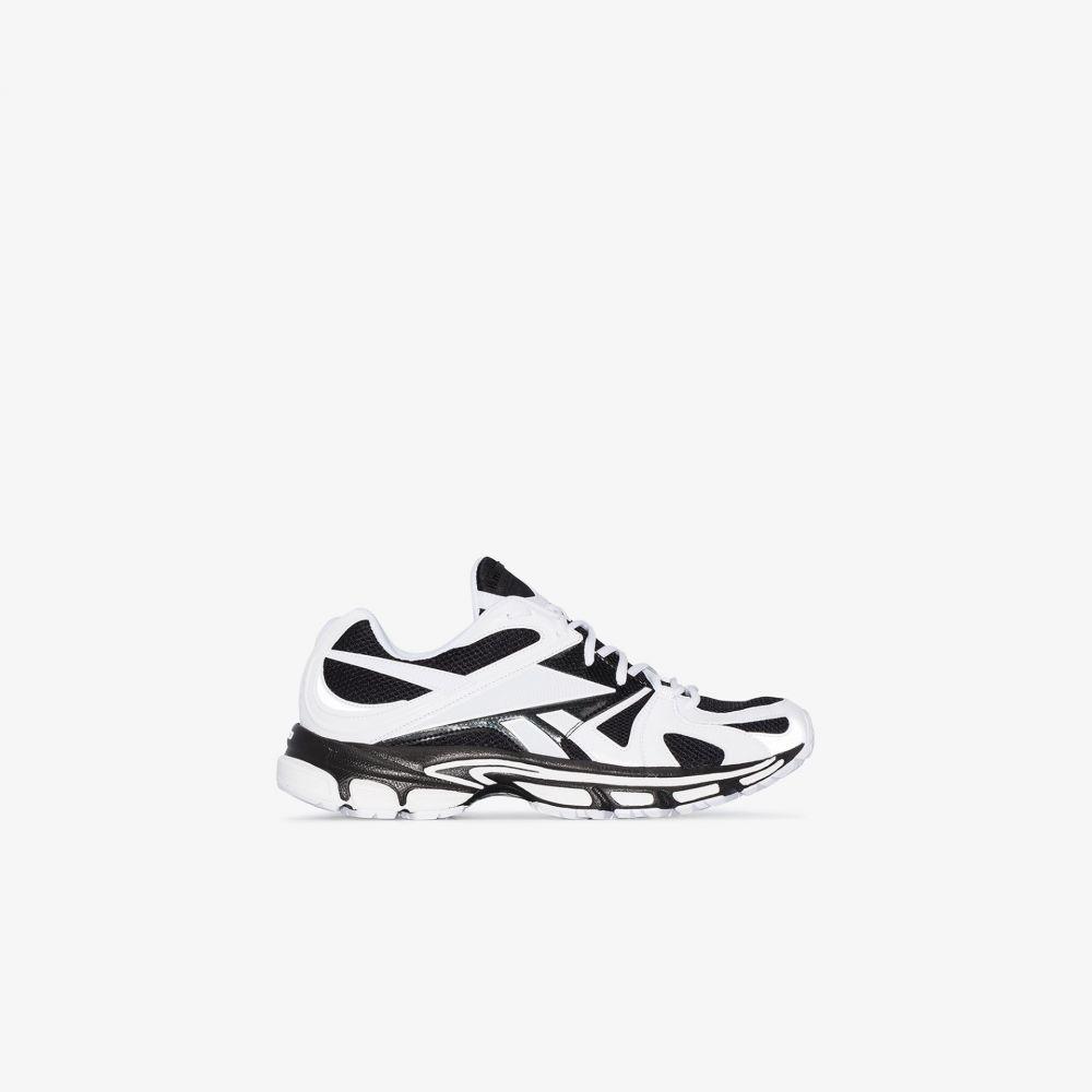 ヴェトモン Vetements メンズ スニーカー リーボック シューズ・靴【X Reebok white and black Spike 200 sneakers】black