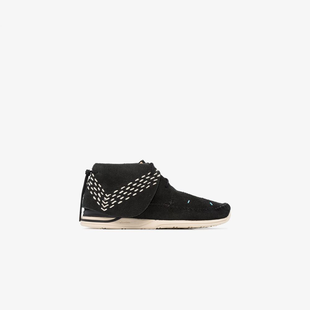 ビズビム Visvim メンズ ブーツ シューズ・靴【Black FBT Lhamo Sashiko Folk Boots】black