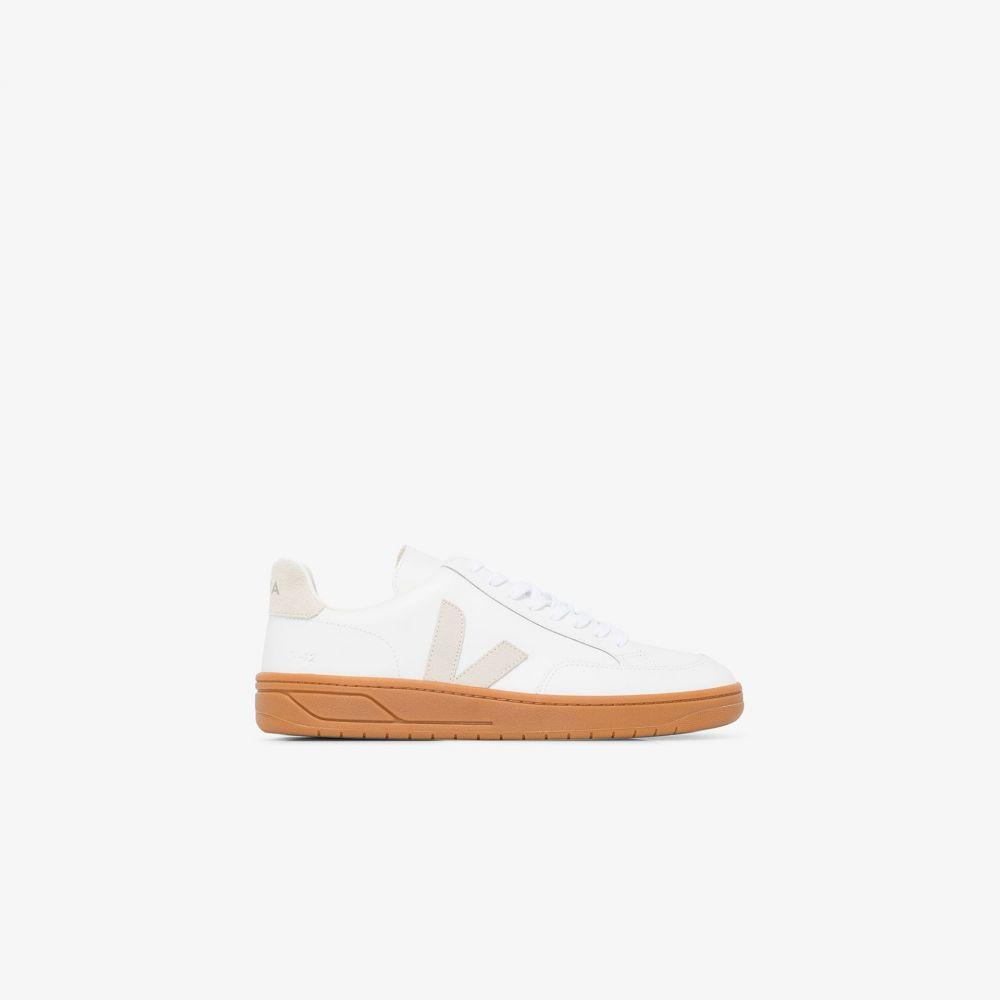 ヴェジャ Veja メンズ スニーカー シューズ・靴【White V-12 leather sneakers】white