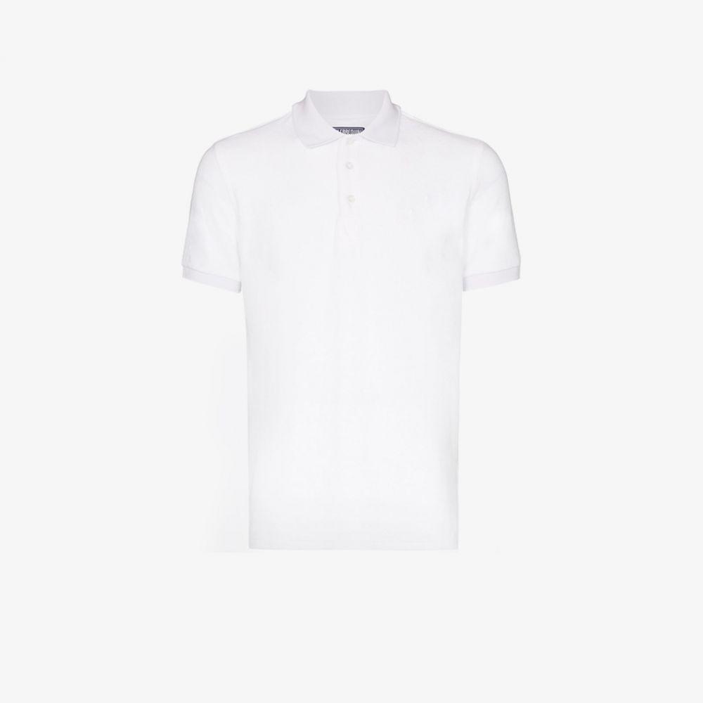 ヴィルブレクイン Vilebrequin メンズ ポロシャツ 半袖 トップス【pacific short sleeve polo shirt】white