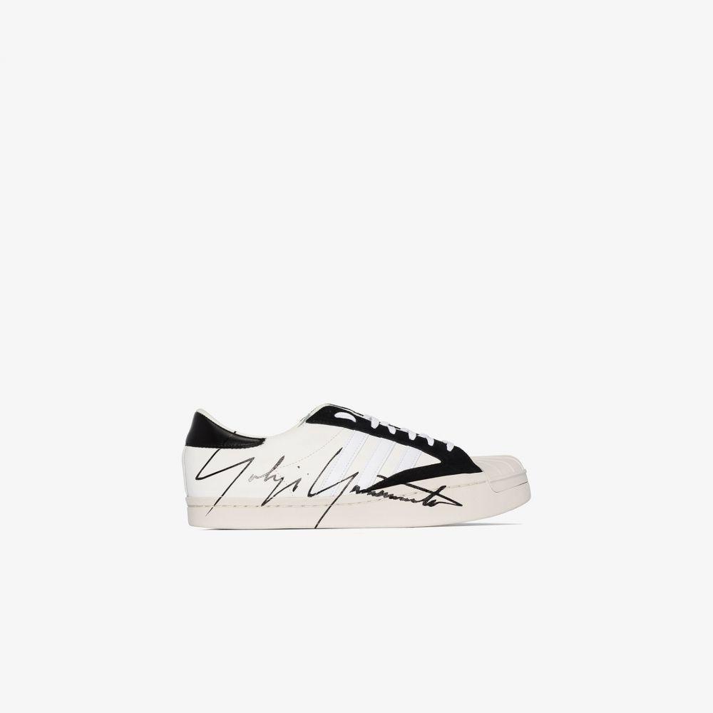 ワイスリー Y-3 メンズ スニーカー ローカット シューズ・靴【white Superstar low top sneakers】white