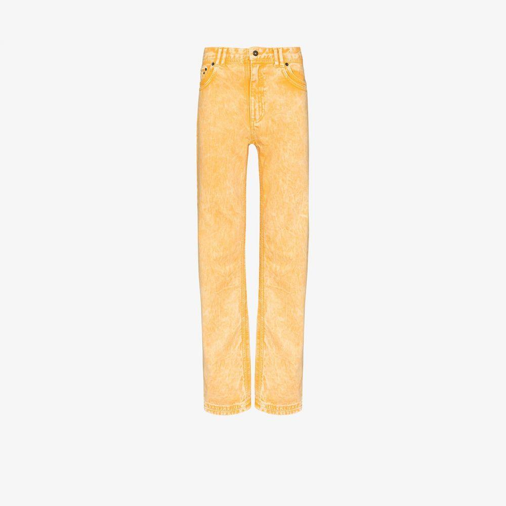 ワイプロジェクト Y/Project メンズ ジーンズ・デニム ボトムス・パンツ【Double seam jeans】yellow