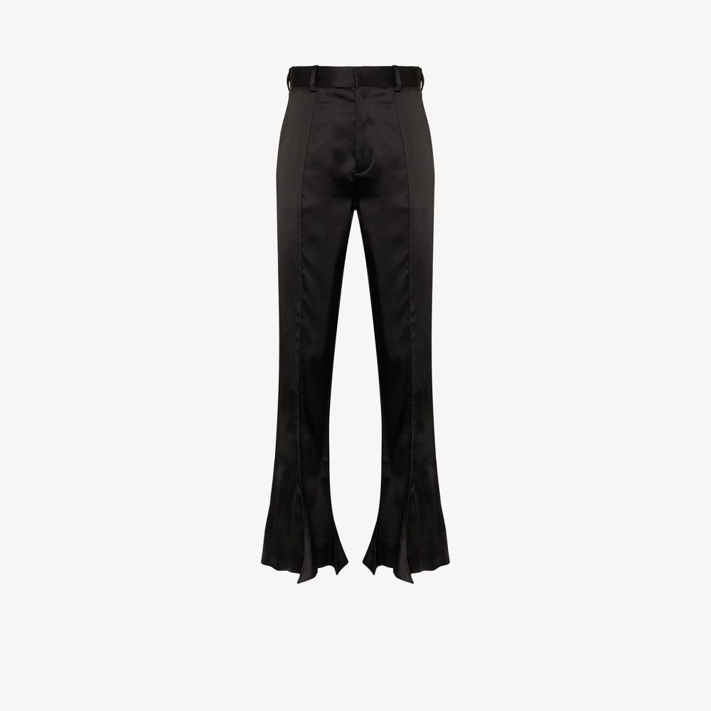 ワイプロジェクト Y/Project レディース ボトムス・パンツ 【Trumpet high waist flared trousers】black