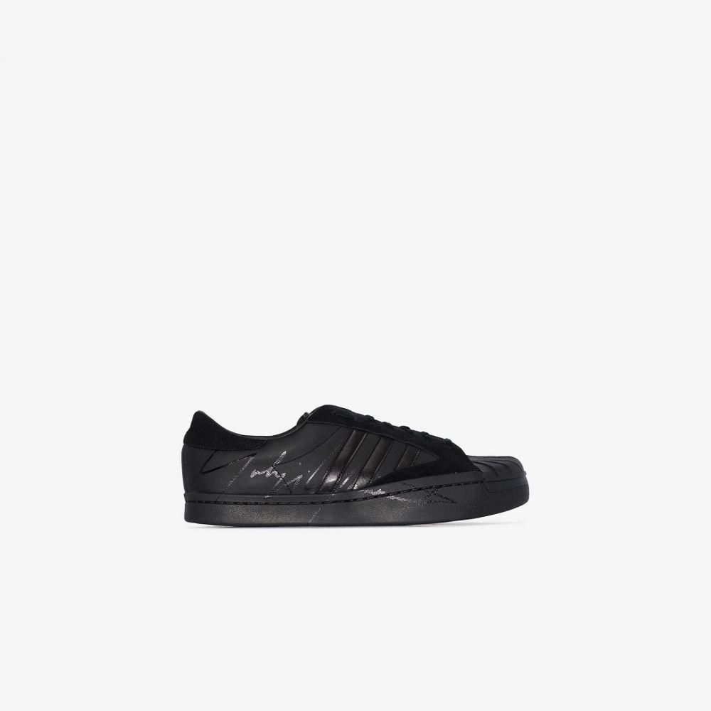 ワイスリー Y-3 メンズ スニーカー ローカット シューズ・靴【black Superstar low top sneakers】black