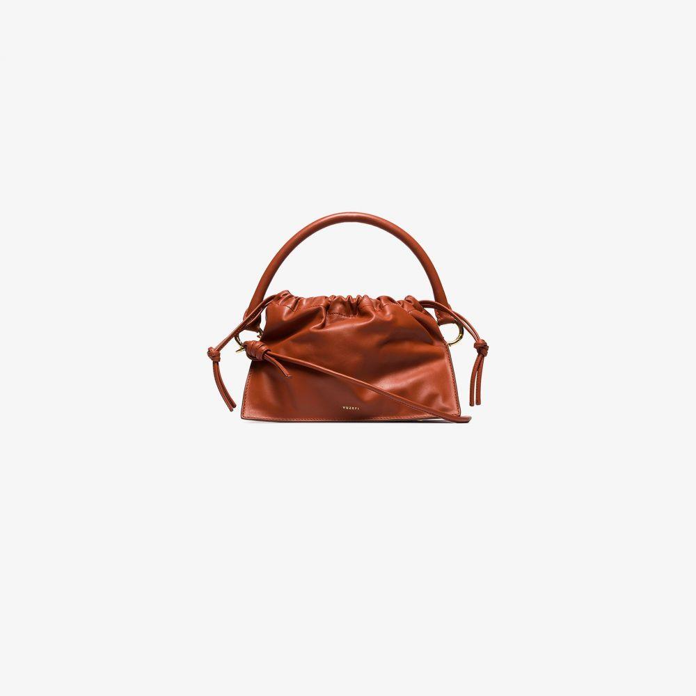 ユゼフィ Yuzefi レディース トートバッグ バッグ【brown Bom leather tote bag】brown