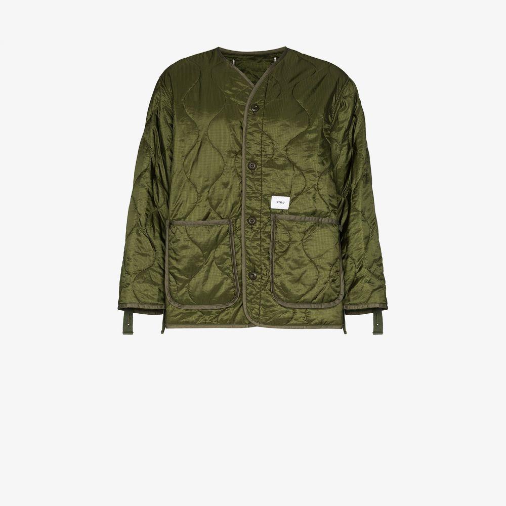 ダブルタップス WTAPS メンズ ジャケット アウター【WLJ quilted jacket】green