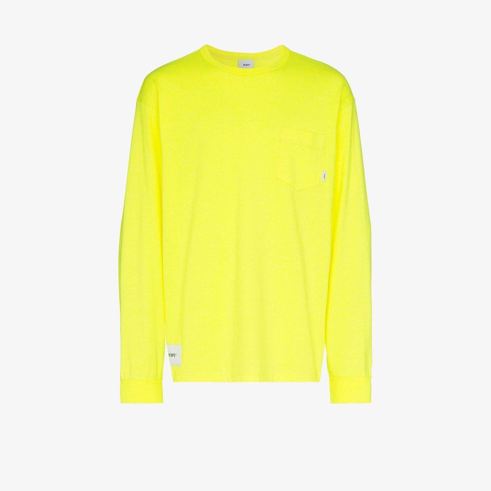 ダブルタップス WTAPS メンズ 長袖Tシャツ トップス【Blank long sleeve T-shirt】yellow