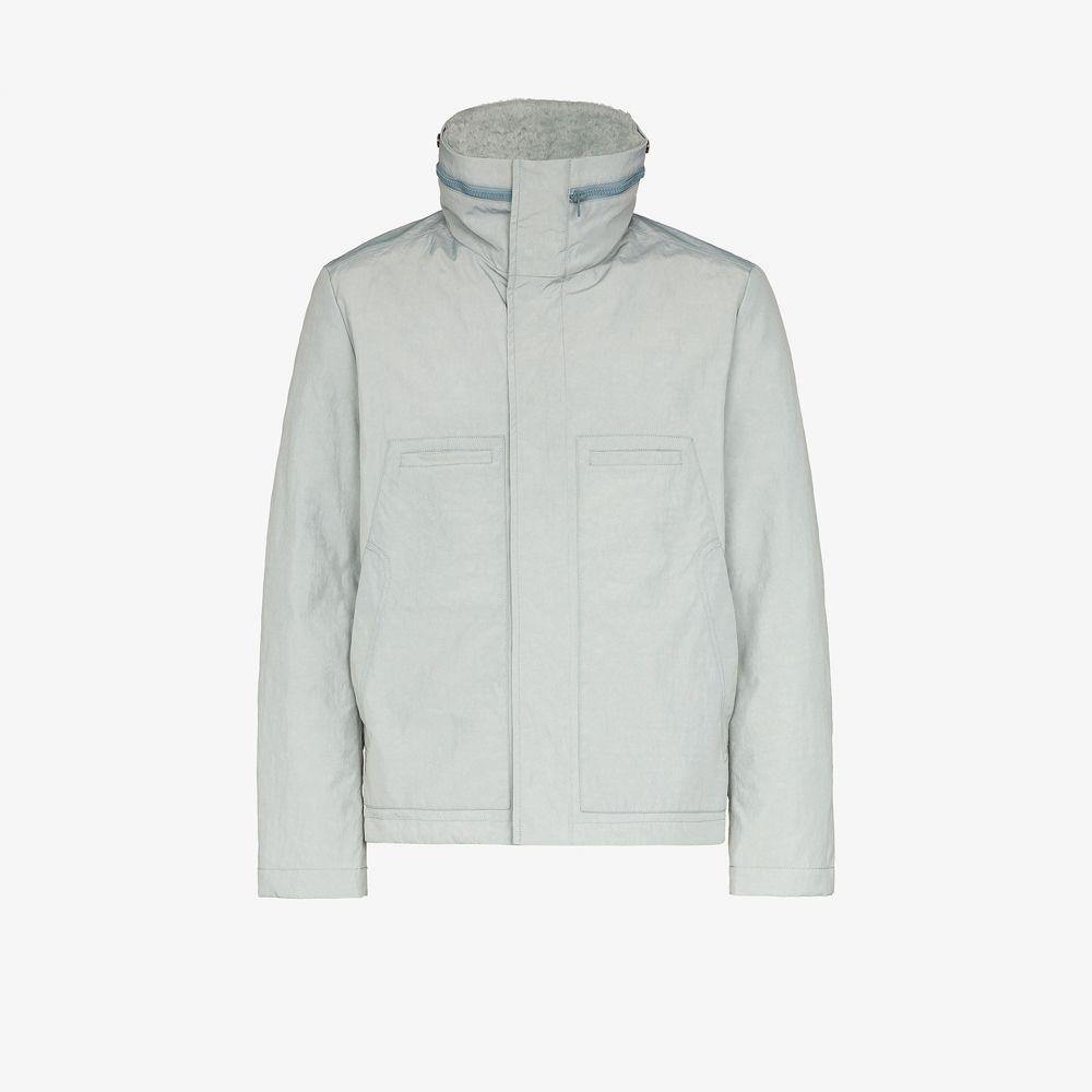 イヴ サロモン Yves Salomon メンズ ジャケット ウィンドブレーカー アウター【Merino lined packable windbreaker jacket】grey