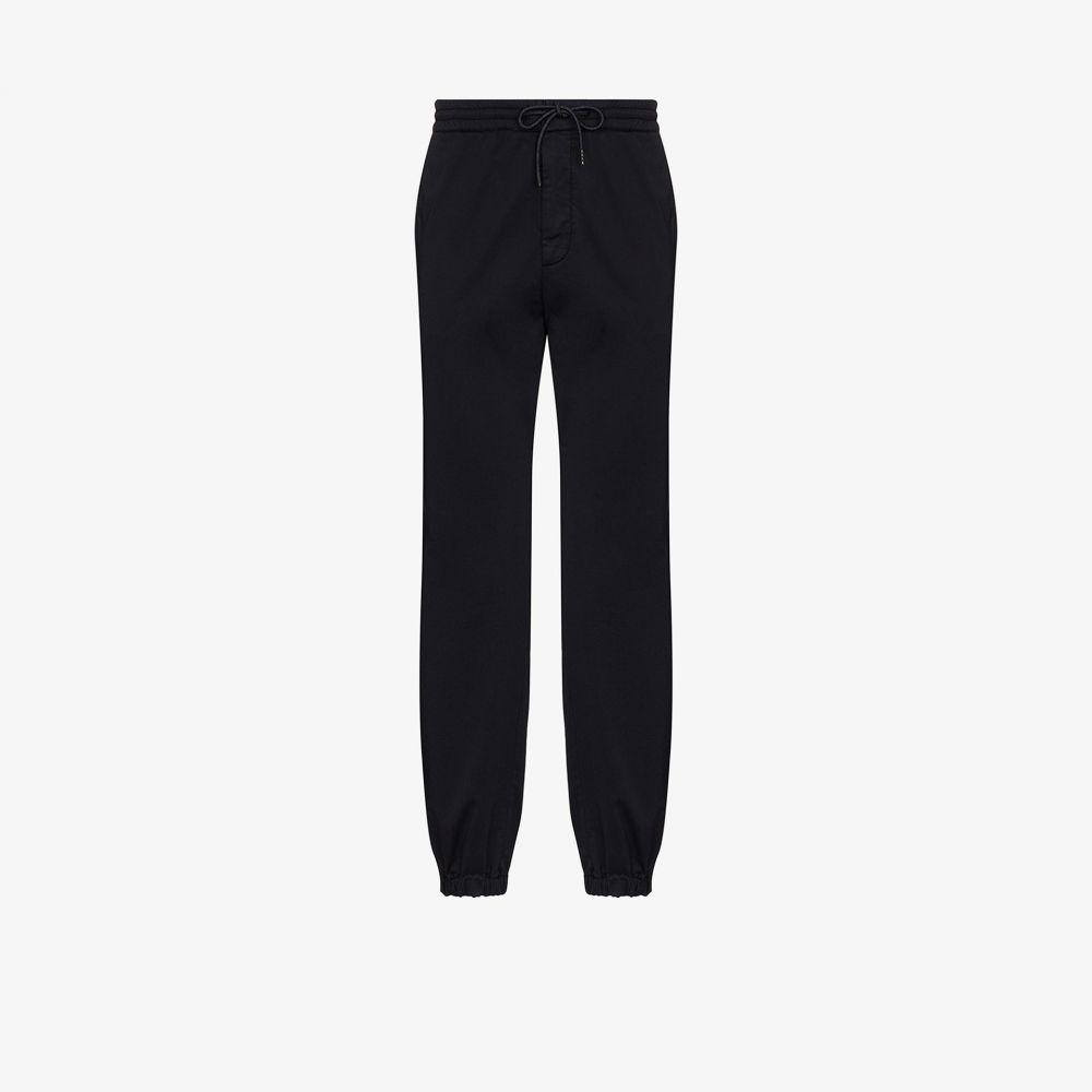 ジーゼニア Z Zegna メンズ ボトムス・パンツ 【drawstring straight leg trousers】blue