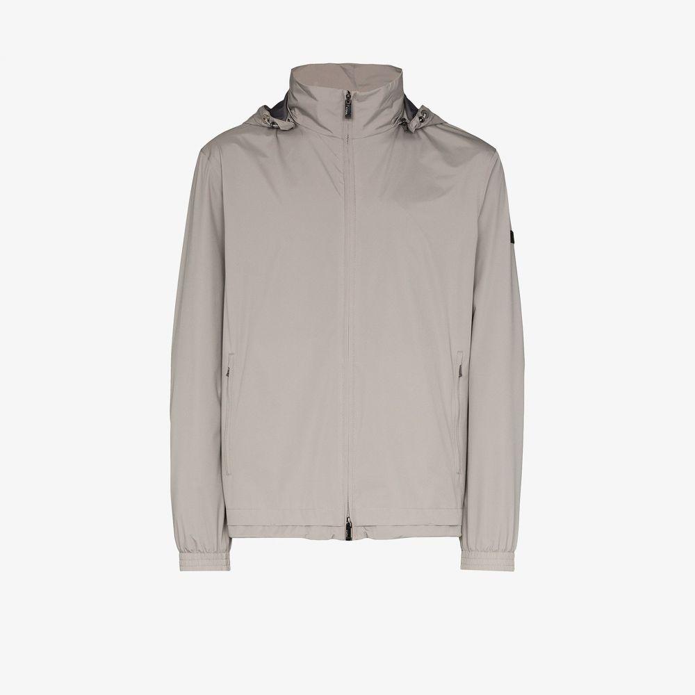 ジーゼニア Z Zegna メンズ ジャケット フード アウター【lightweight hooded jacket】grey