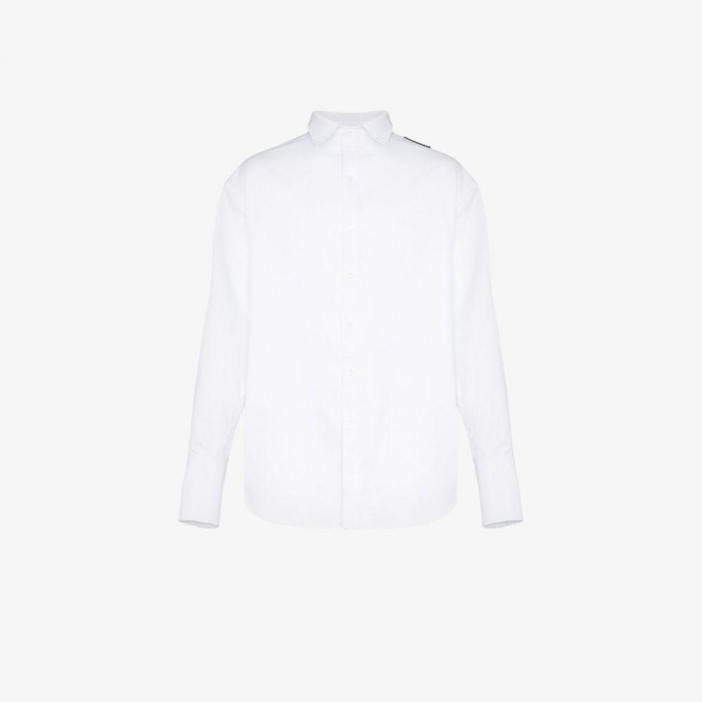 バレンシアガ Balenciaga メンズ シャツ トップス【oversized shirt】white