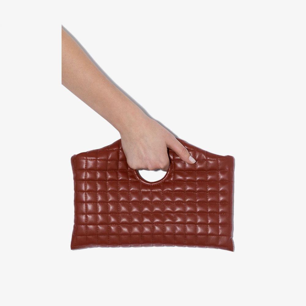 アウェイク モード レディース バッグ 最安値 クラッチバッグ サイズ交換無料 A.W.A.K.E. bag quilted 気質アップ Mode Brown clutch brown Anouk