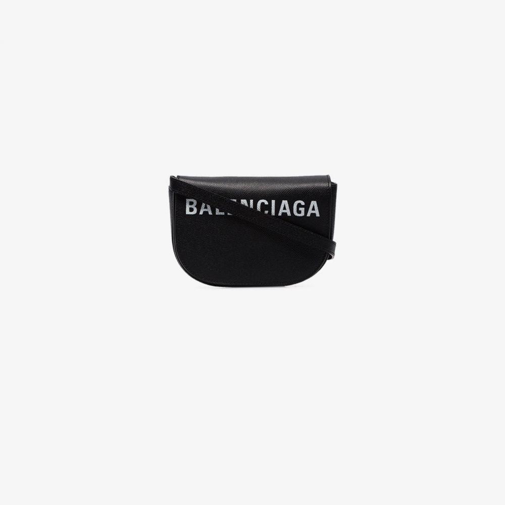 バレンシアガ Balenciaga レディース ショルダーバッグ バッグ【black Ville XS leather cross body bag】black