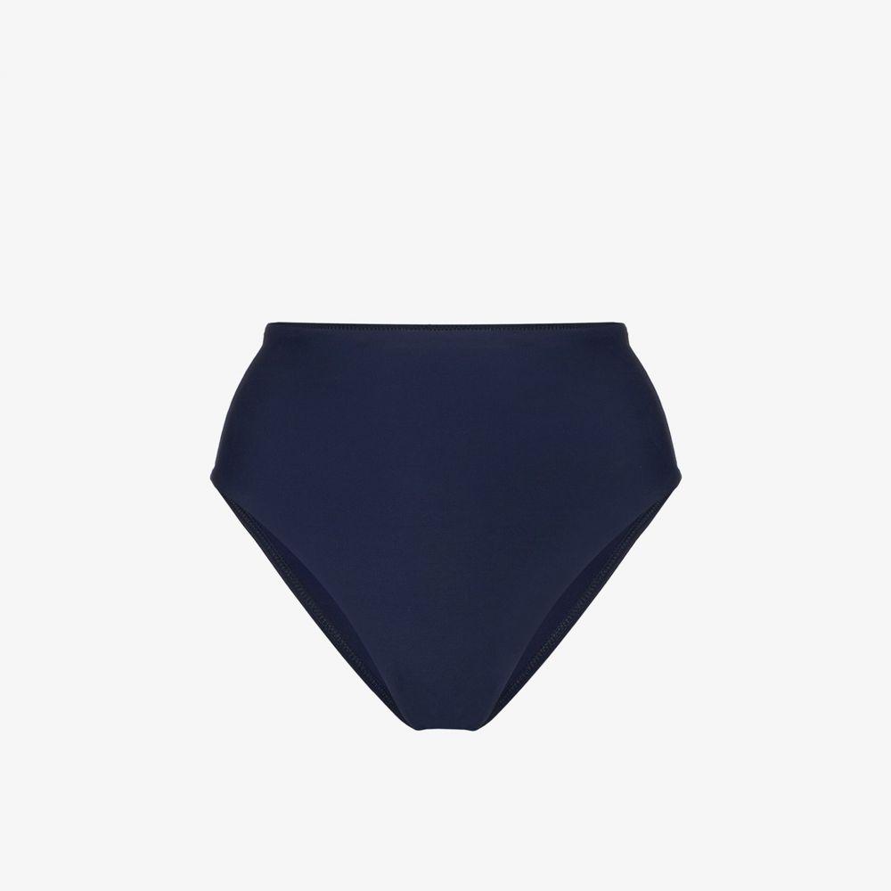 ボンダイボーン Bondi Born レディース ボトムのみ 水着・ビーチウェア【Blue Paloma high-waisted bikini bottoms】blue
