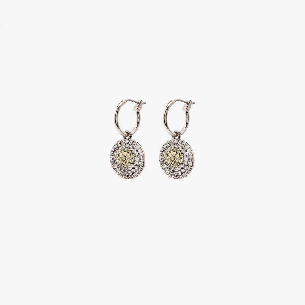 ブラウンズ Browns X Sara Shakeel レディース イヤリング・ピアス ドロップピアス ジュエリー・アクセサリー【Silver tone Swarovski crystal drop earrings】