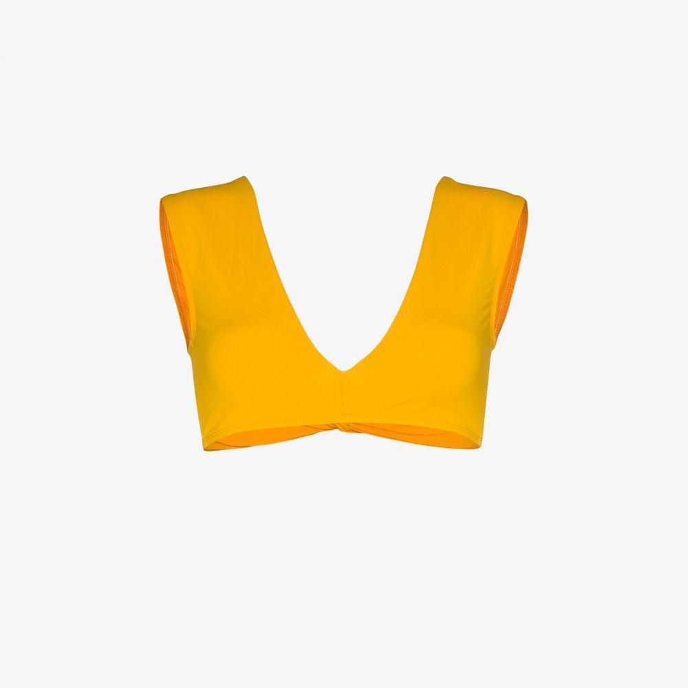 ベス リチャーズ Beth Richards レディース トップのみ 水着・ビーチウェア【twist bikini top】yellow