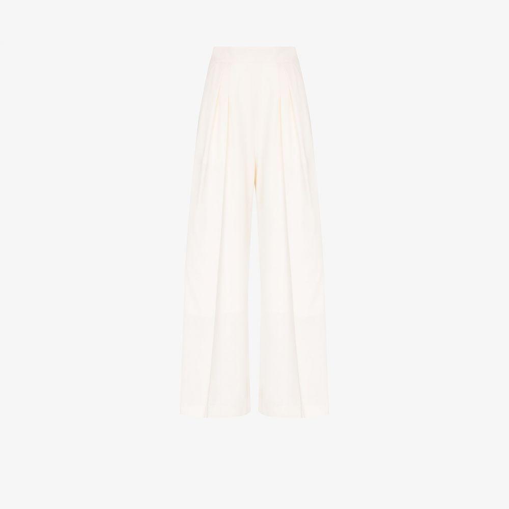 ブローガー Brogger レディース ボトムス・パンツ ワイドパンツ【Gretta wide leg trousers】white