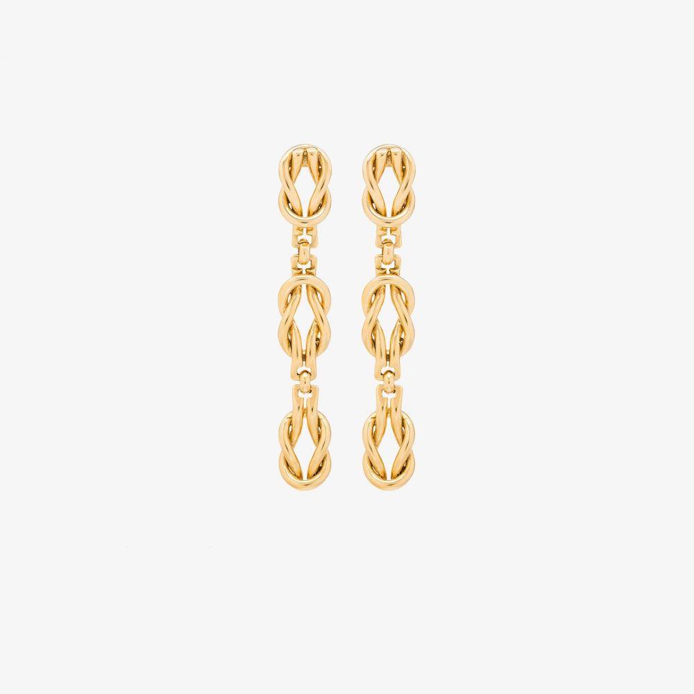 ブリンカー&エリサ Brinker & Eliza レディース イヤリング・ピアス ドロップピアス ジュエリー・アクセサリー【gold tone Love drop earrings】gold