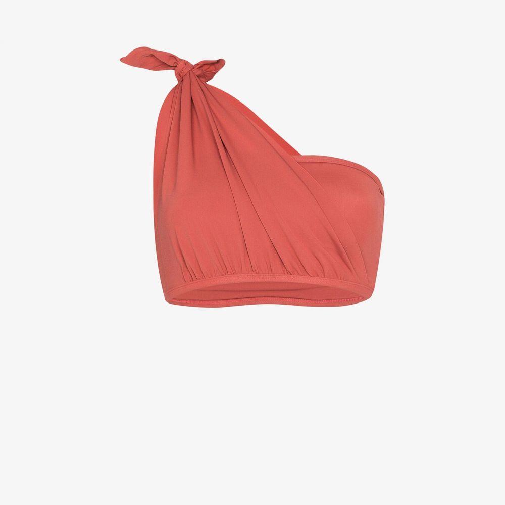 ベス リチャーズ Beth Richards レディース トップのみ 水着・ビーチウェア【knot bandeau one shoulder bikini top】pink