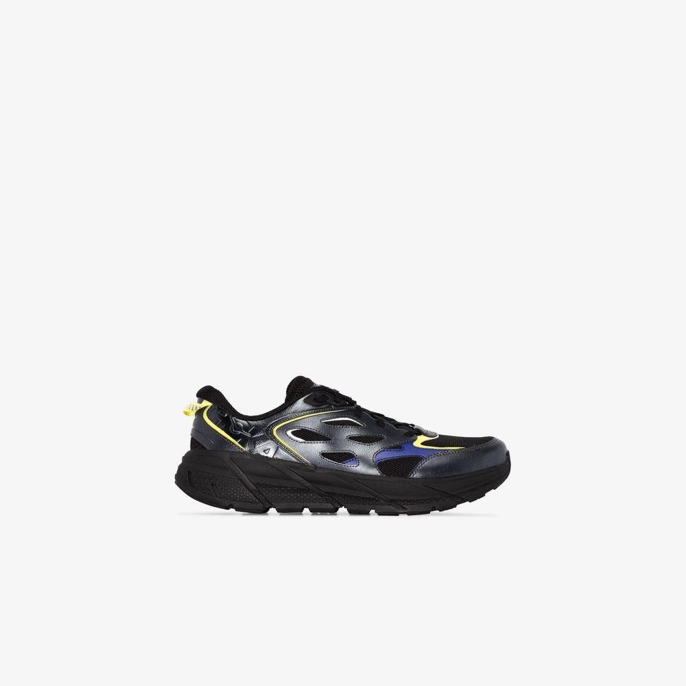 ホカ オネオネ Hoka One One メンズ スニーカー シューズ・靴【X Opening Ceremony black BM Clifton leather sneakers】black