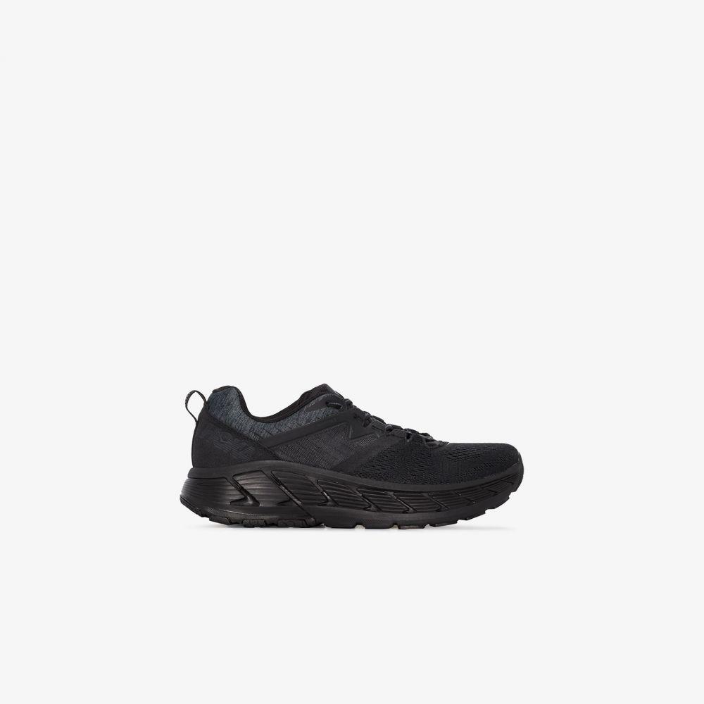ホカ オネオネ Hoka One One メンズ スニーカー シューズ・靴【black Gaviota 2 sneakers】black