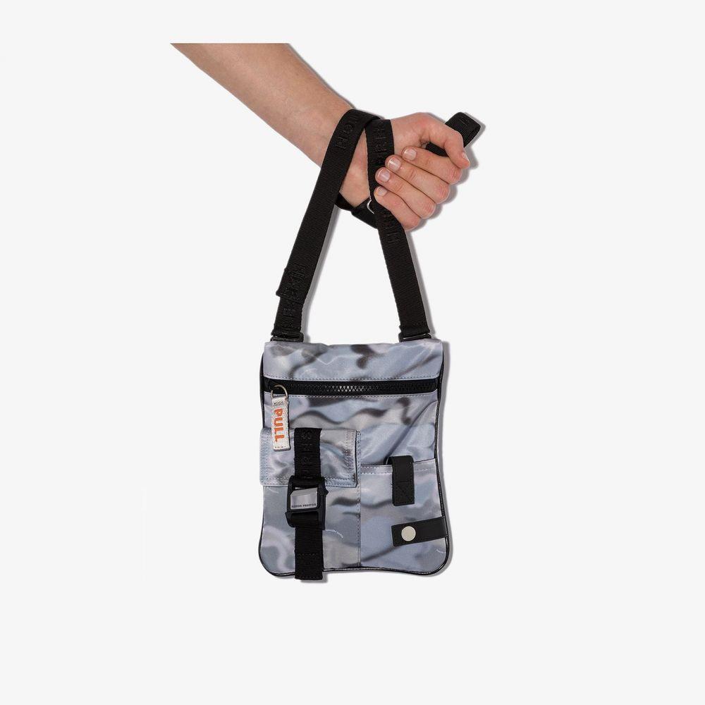 ヘロン プレストン Heron Preston メンズ ショルダーバッグ バッグ【grey camouflage cross body bag】grey