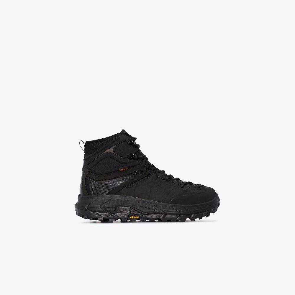 ホカ オネオネ Hoka One One メンズ スニーカー シューズ・靴【black tor ultra high top sneakers】black