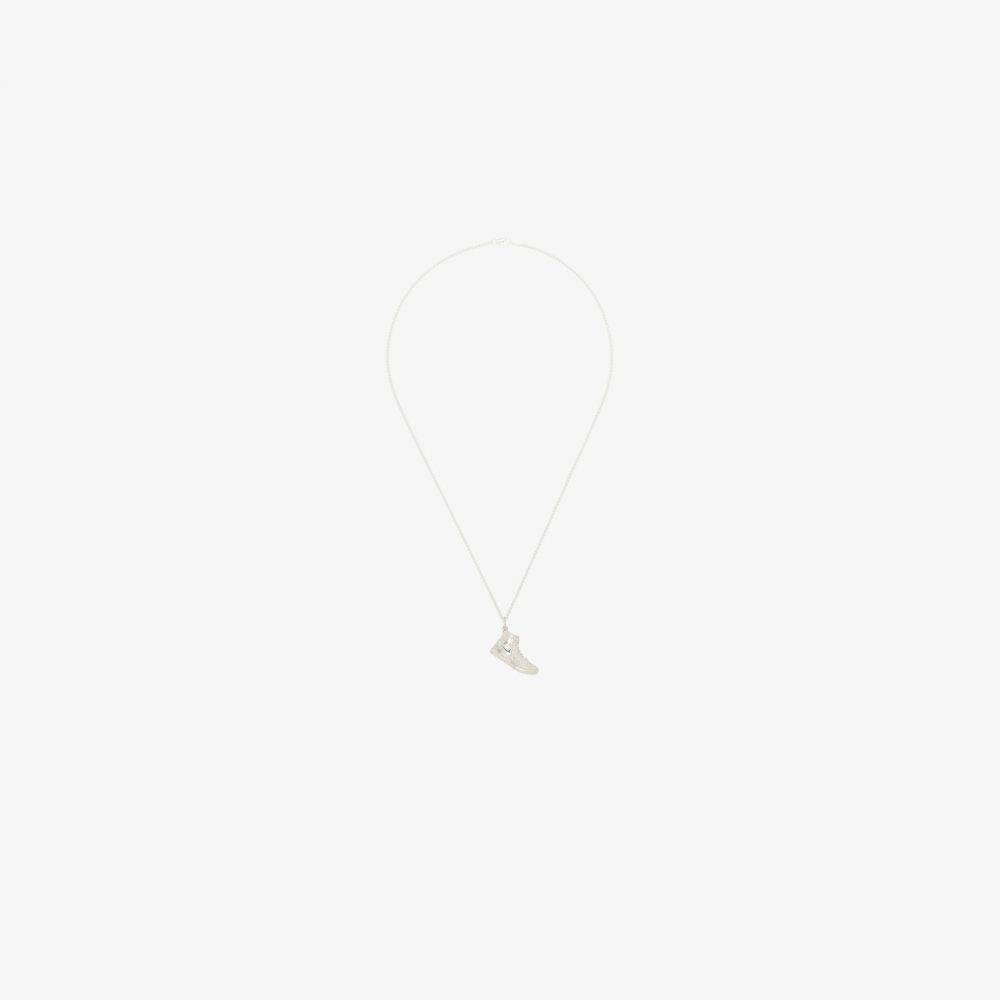 ハットンラボ Hatton Labs メンズ ネックレス ジュエリー・アクセサリー【X Chinatown Market sterling silver sneaker necklace】silver