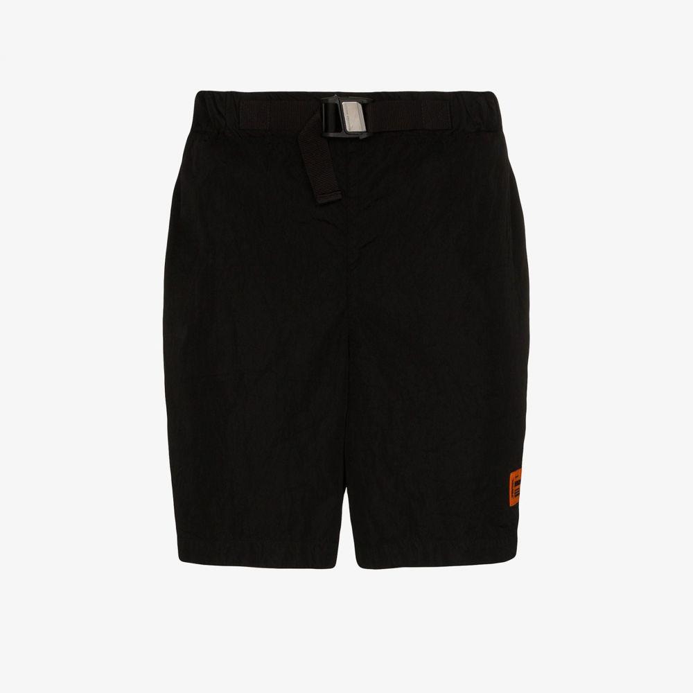 ヘロン プレストン Heron Preston メンズ ショートパンツ ボトムス・パンツ【buckled logo shorts】black