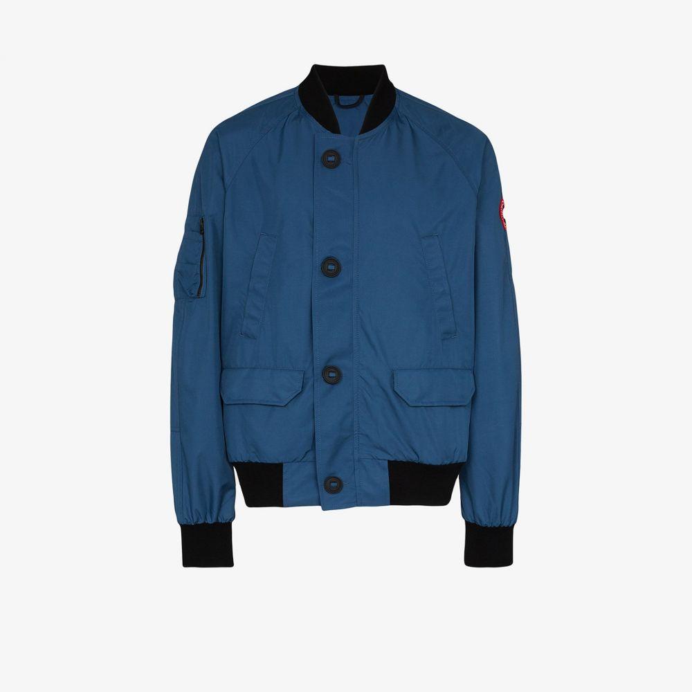 カナダグース Canada Goose メンズ ブルゾン ミリタリージャケット アウター【Dunham padded bomber jacket】blue